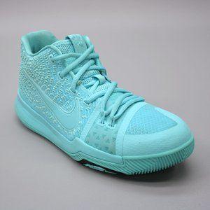 Nike Youth 6.5 Y Girls Kids Kyrie 3 Aqua Blue
